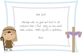 Daily Prayer Cards for Children