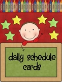 Daily Schedule Cards-Primary Classroom