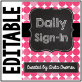 Daily Sign-In
