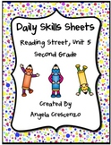 Daily Skills Sheets Unit 5 Reading Street Grade 2, 2011 &