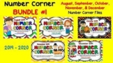 Daily Smartboard NUMBER CORNER - BUNDLE 1
