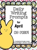 Daily Writing Prompts for April