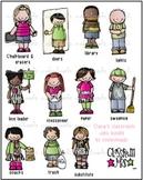 Dana's classroom jobs by Melonheadz