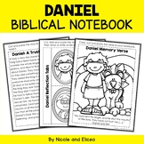 Daniel Bible Unit (text, memory verse & activities)