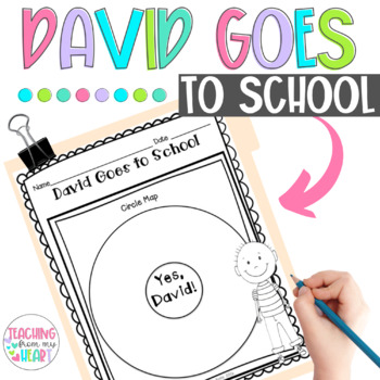 David Goes to School Book Companion, Back to School, Beginning of the Year