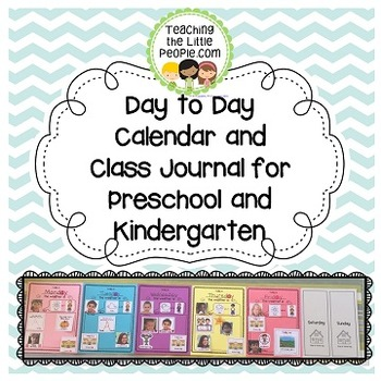 Day to Day Classroom Calendar Image