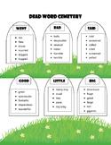 Dead Word Writing Activities