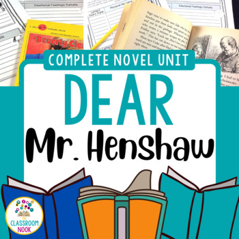 Dear Mr. Henshaw:  Complete Novel Unit {Common Core}