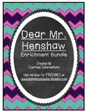Dear Mr. Henshaw Enrichment - Response Journal, Projects/A