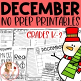 December NO PREP Activities Packet
