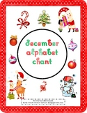 December Alphabet Chant