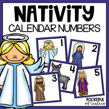 December Calendar Numbers - Religious