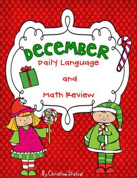 December Daily Language and Math Practice