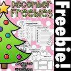 December FREEBIES!!!!!