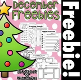 December FREEBIES!!!!!