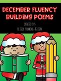 December Fluency Building Poems {Poetry Notebooks}