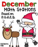 December Math Stations {Based on BUILD}