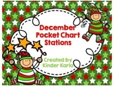 December Pocket Chart Station