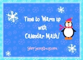 December SMARTboard Calendar Math