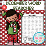 December Word Searches...Print and Go!