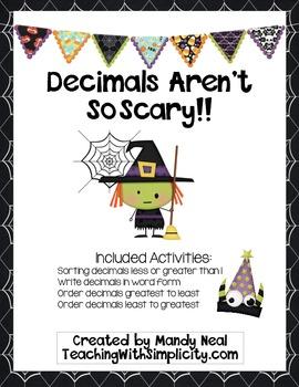 Decimals Aren't So Scary