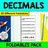 Decimals Foldables
