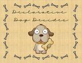 Declarative Dog Literacy File Folder Game / Center (Senten