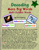 Decoding Multi-Syllabic Words