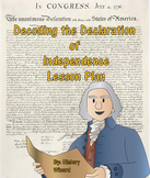 Decoding the Declaration of Independence Lesson Plan