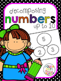 Number Sense and Decomposing Numbers to 10 Unit (Projectab