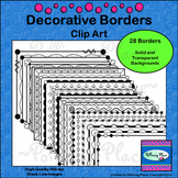 Decorative Borders Clip Art