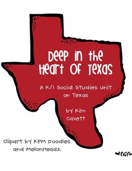 Deep in the Heart of Texas: Texas Social Studies Unit