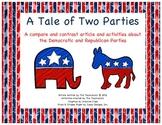 Democrats vs. Republican Compare/Contrast Article w/ activities