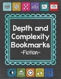 Depth and Complexity Bookmarks {Fiction}
