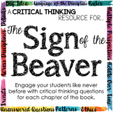 Depth and Complexity Companion for Sign of the Beaver