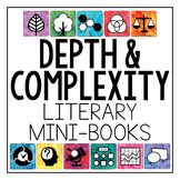 Depth and Complexity {Literary Mini-Books}
