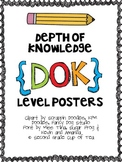 Depth of Knowledge (DOK) Level Posters