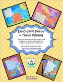 Descriptive Poetry & Tissue Painting: 5-Sense Your Poetry Lessons