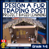 Design a Fur Trading Post-Creative Thinking Activity & Assessment