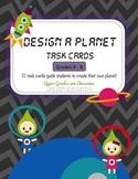 Design a Planet Task Cards