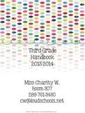 Designer Dots Theme Classroom Parent Handbook