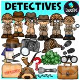 Detectives Clip Art Bundle
