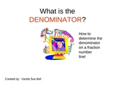Determine the Denominator (on a Number Line) PowerPoint Tutorial