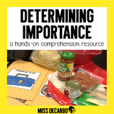 Determining Importance: A Hands-On Comprehension Pack