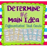 Determining the Main Idea, Task Cards and Assessment Option