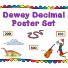 Dewey Decimal System Poster Set