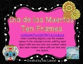 Dia de los Muertos Ten Frames Activity