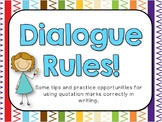 Dialogue Rules for BIG Kids!