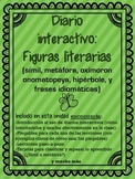 Interactive Reading Notebook: Figurative Language ( Spanish )