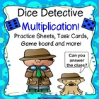 Dice Detective Multiplication!